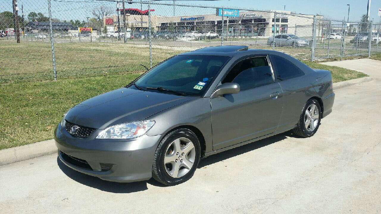 2004 honda civic ex for sale in houston tx 5miles buy and sell. Black Bedroom Furniture Sets. Home Design Ideas