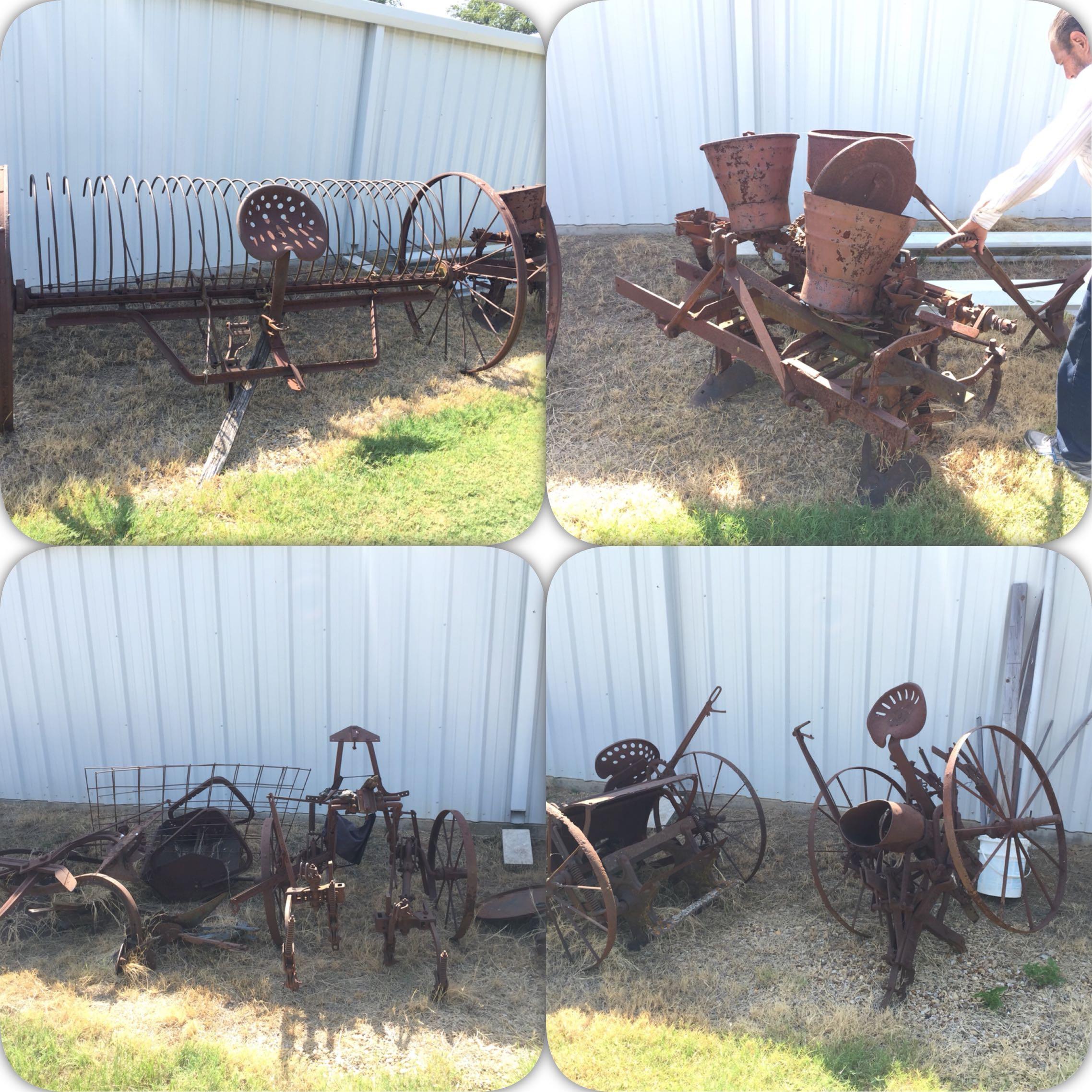 Antique Farm Equipment/Yard Art For Sale In Balch Springs