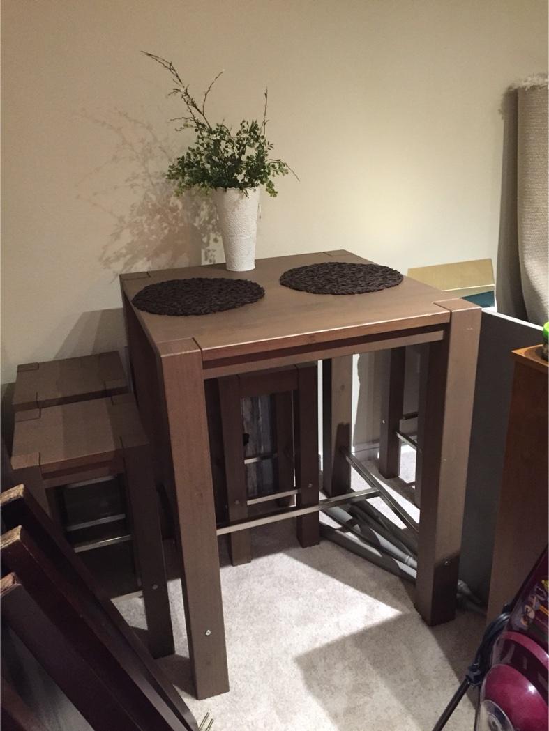 Bodarna ikea dining table for sale in dallas tx 5miles for Ikea in dallas
