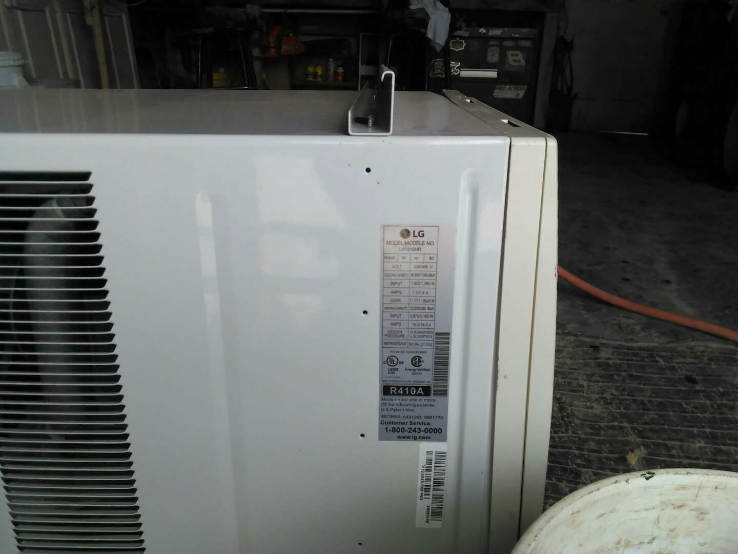 Window unit air conditioning heater combo 18000 b t u for 18000 btu ac heater window unit
