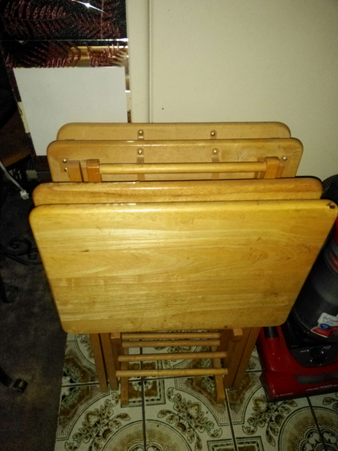 Wood TV trays for sale in Brea CA 5miles: Buy and Sell