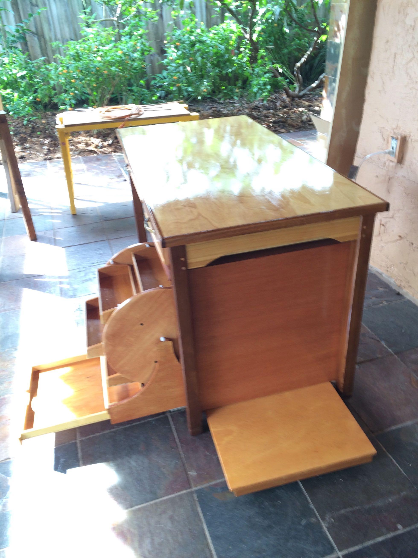 elegante y funcional escritorio para nias de a aos hecho a mano en
