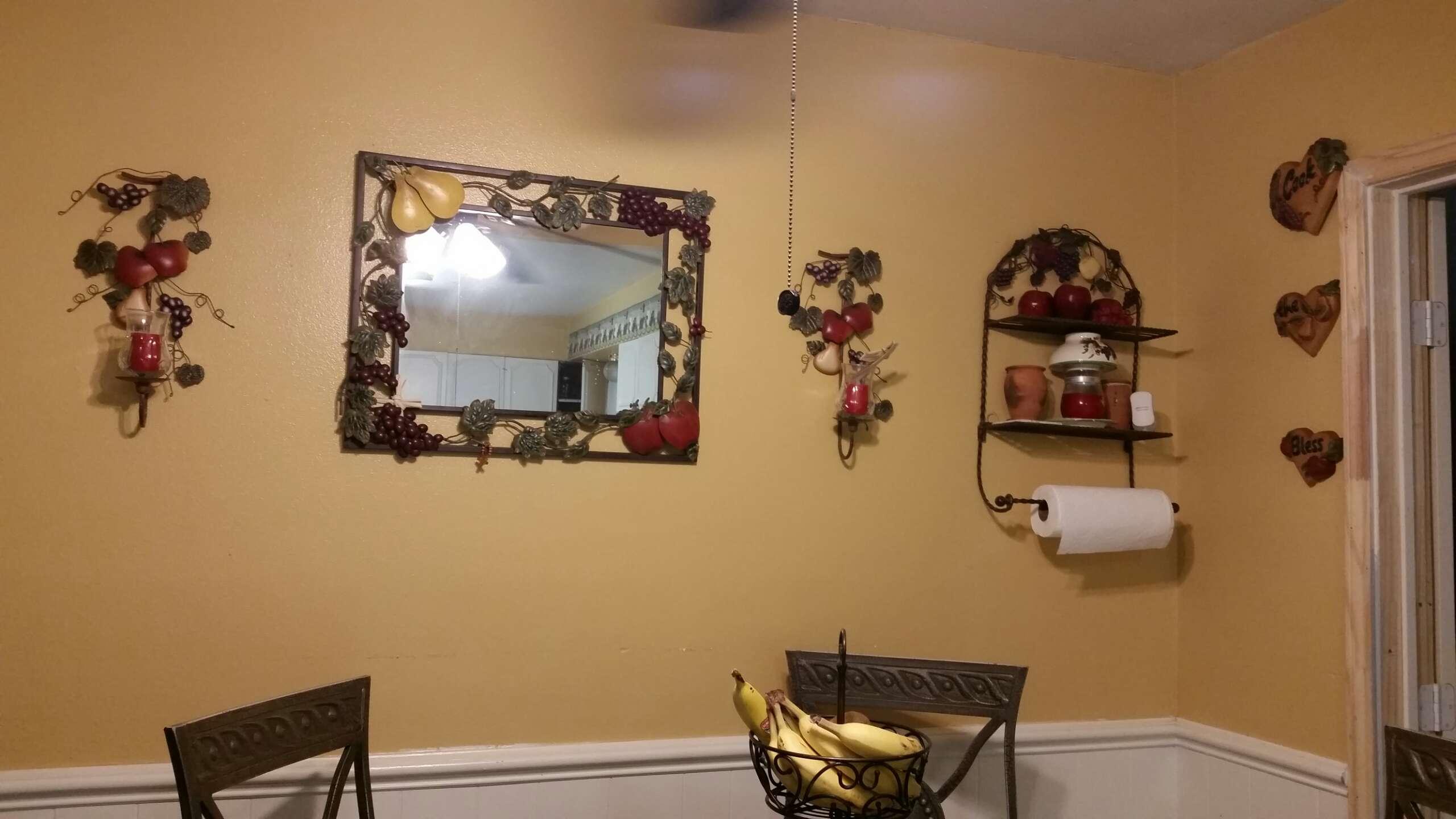 Vendo Espejo Con Diseño De Frutas Home Interiors