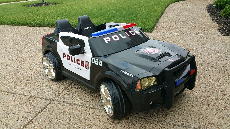 modify kids 18v volt dodge charger police car for sale in allen tx 5miles buy and sell. Black Bedroom Furniture Sets. Home Design Ideas