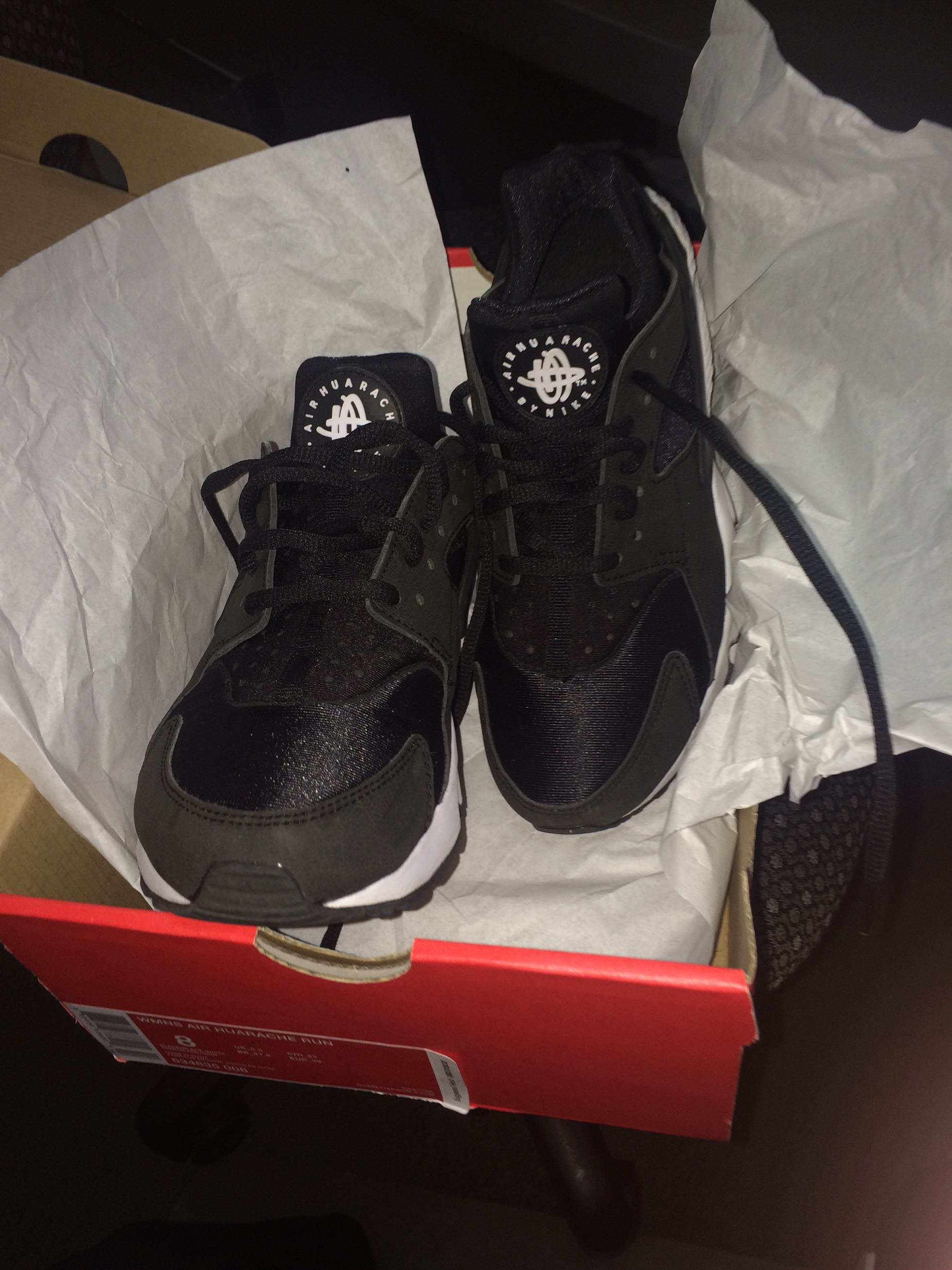 Nike Huaraches size 8. Just like new. This type of shoe runs small ...