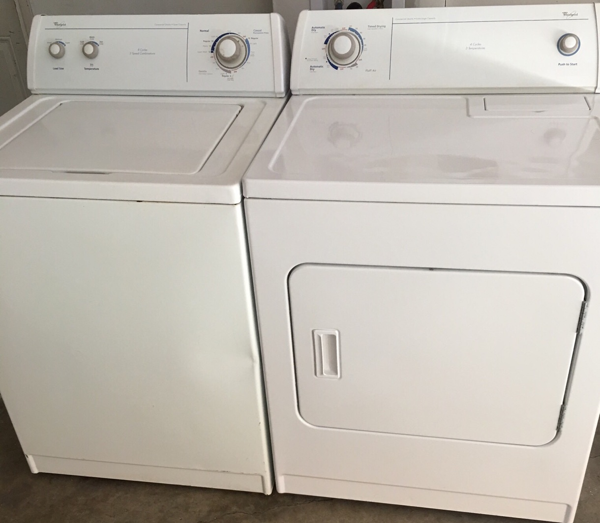 Whirlpool Washer And Dryer Set For Sale In The Colony, TX