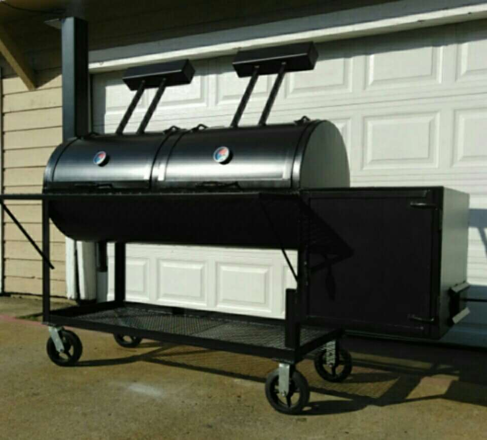 quotPITS BY HUGO174quot CUSTOM MADE SMOKER BBQ PIT GRILLS ASADOR  : 1487523460 from www.5miles.com size 960 x 869 jpeg 54kB
