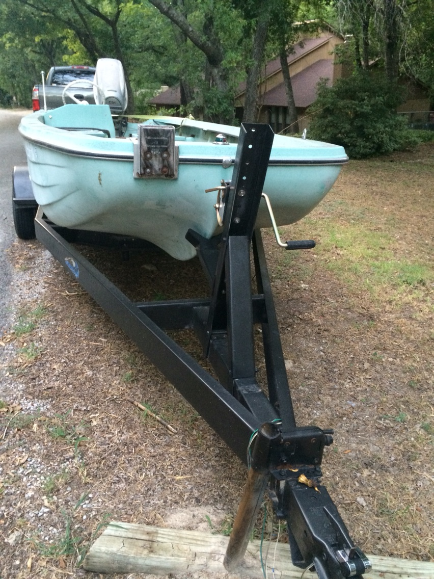 Fishing Boat With New Trailer And Engine For Sale In