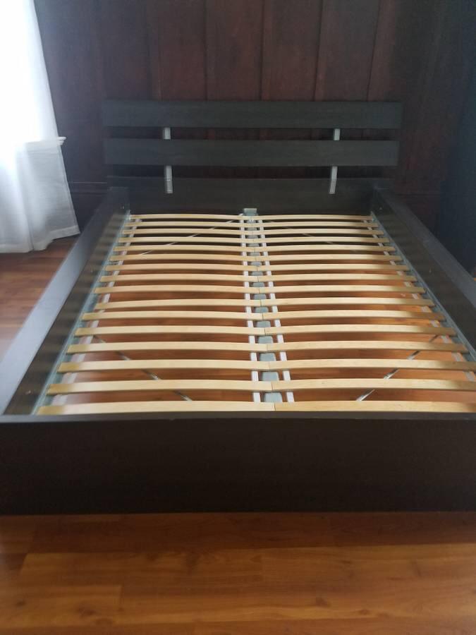 ikea hopen queen bed frame slats u003d 70 - Queen Bed Frame Wood