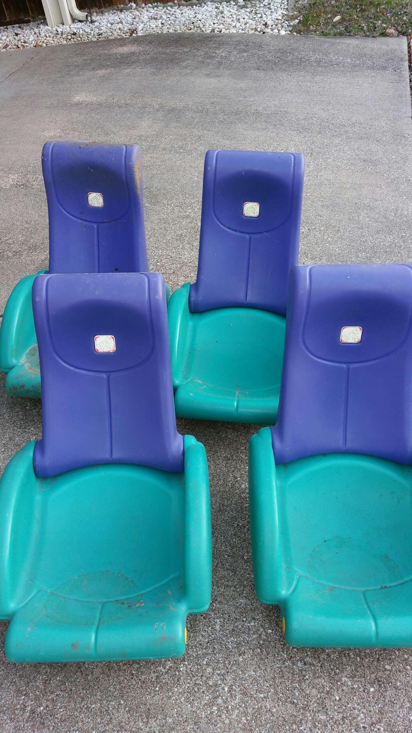 Step 2 rocking chair -  4 Step 2 Folding Rocking Chairs
