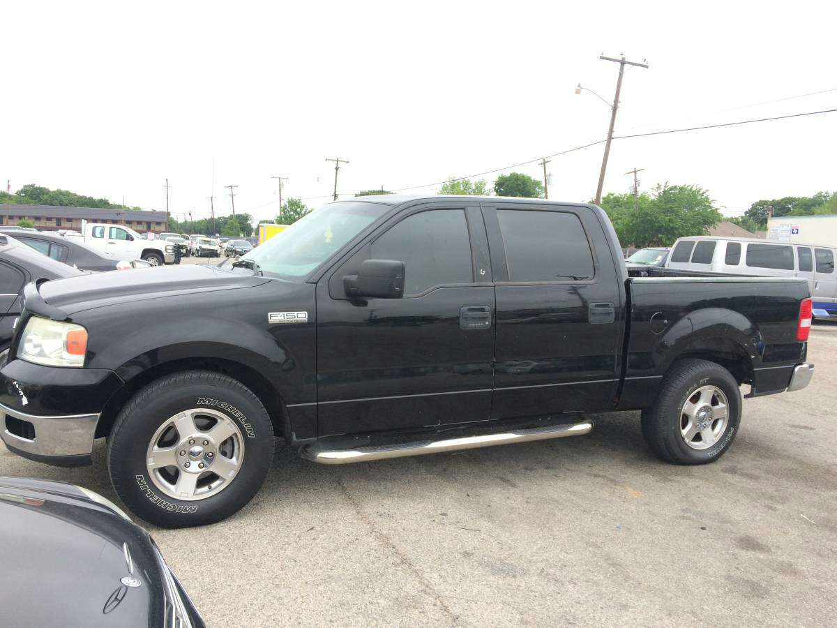 2004 ford f150 supercrew v8 5 4 for sale in dallas tx 5miles buy and sell. Black Bedroom Furniture Sets. Home Design Ideas