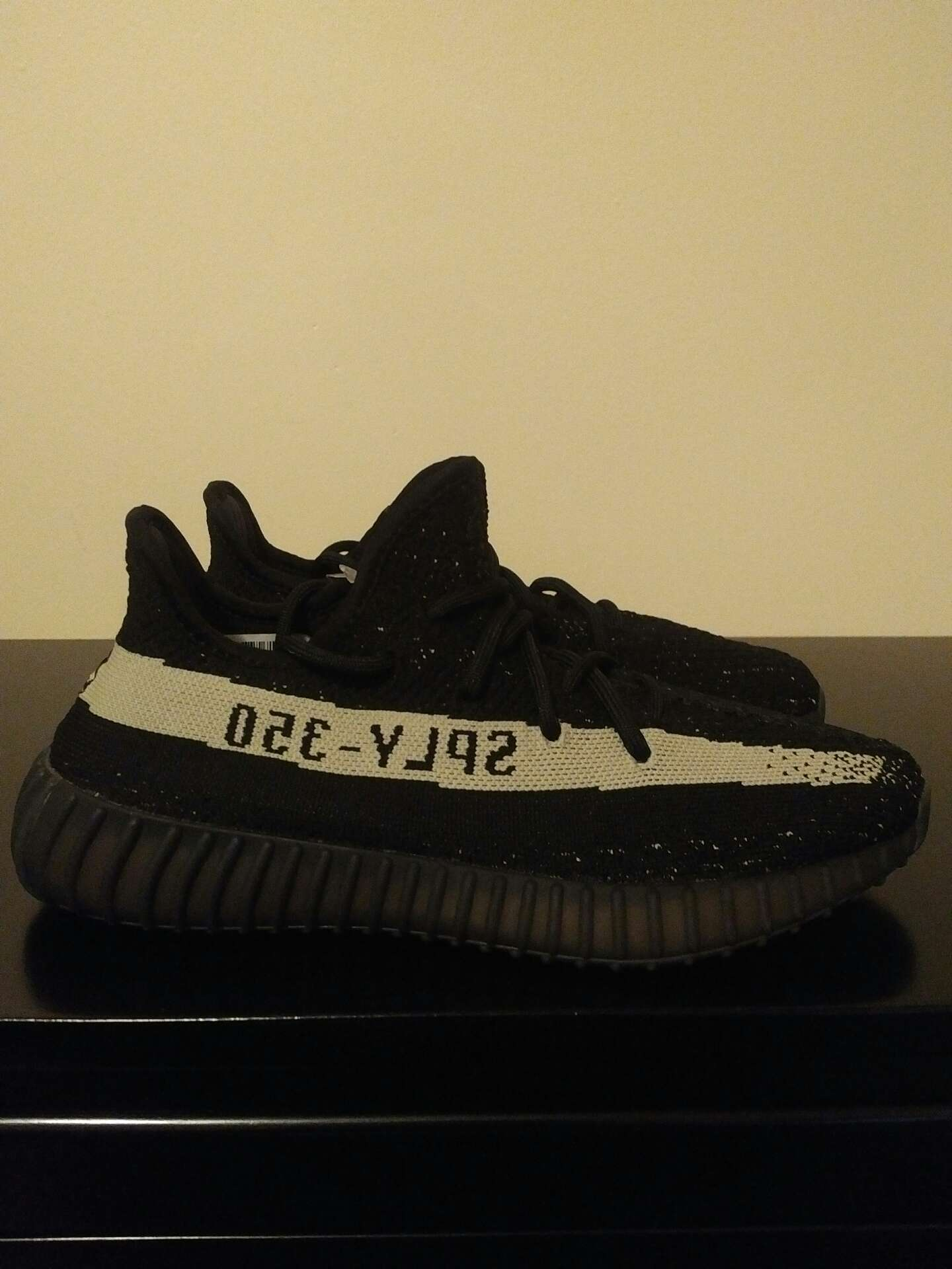 ATC Adidas Yeezy 350 v2 'Black White' BY 1604 12.17.2017
