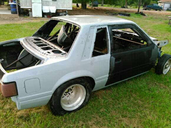 90 mustang coupe fox body 2 100 obo tubular front end. Black Bedroom Furniture Sets. Home Design Ideas