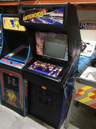 asteroids arcade machine for sale