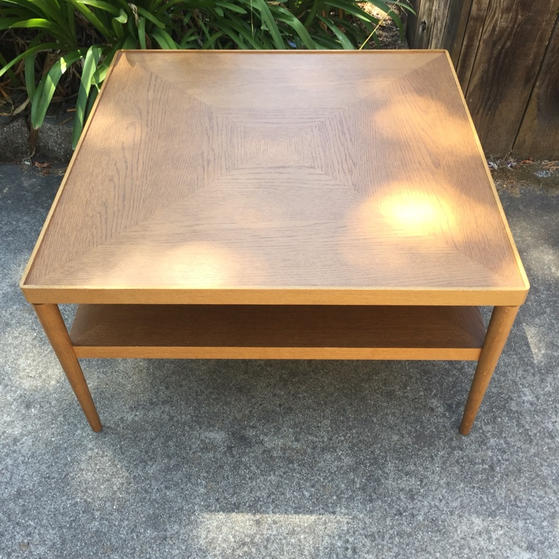 discontinue Ikea Stockholm square Coffee Table for sale in Alameda