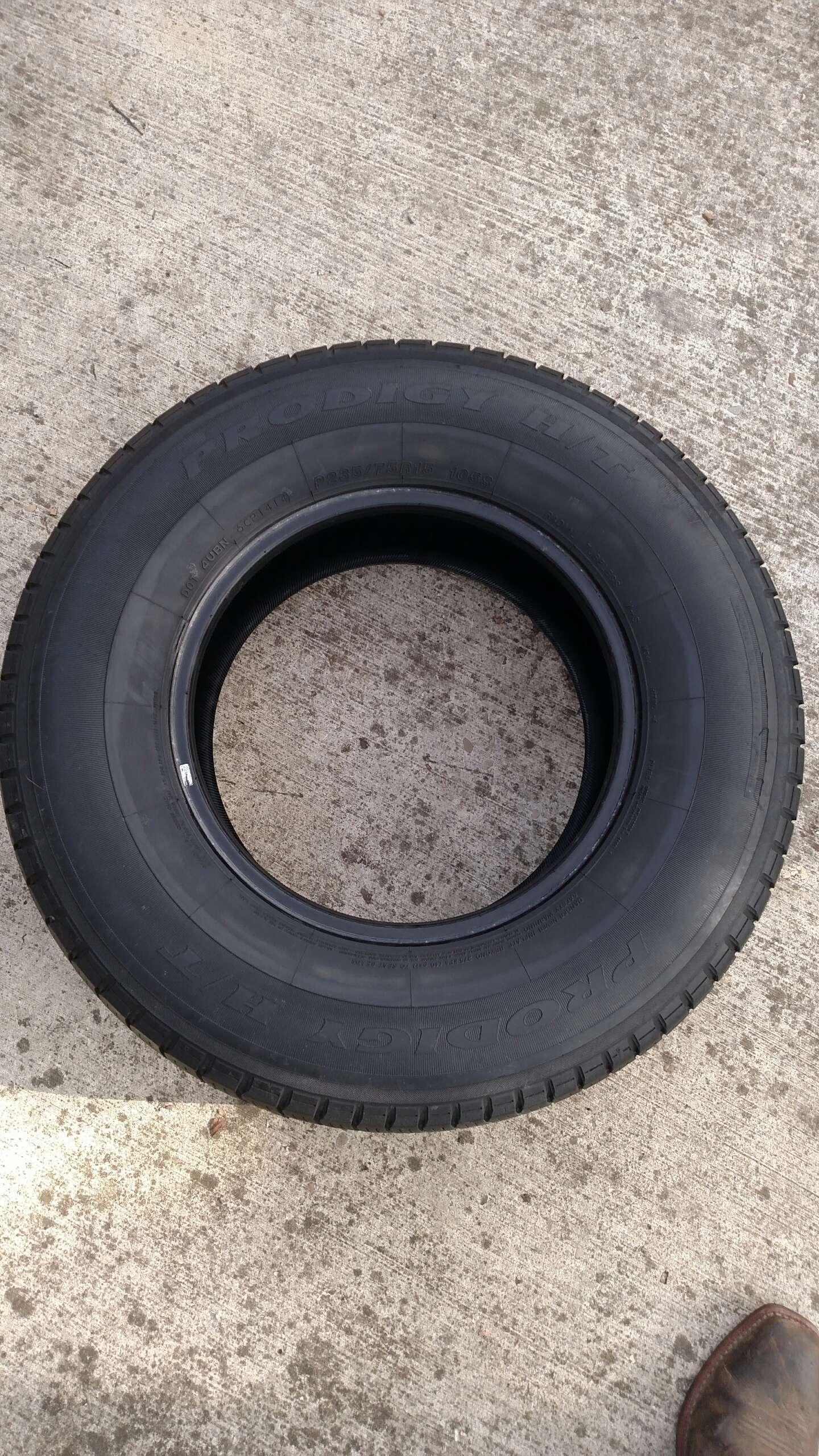 Prodigy H T P235 75r15 Tire For Sale In San Antonio Tx