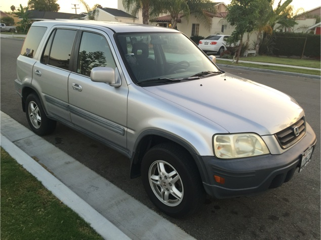 2001 honda crv 4wd 4x4 gas saver 4 cylinder smog done carfax current tags ac col for sale in. Black Bedroom Furniture Sets. Home Design Ideas