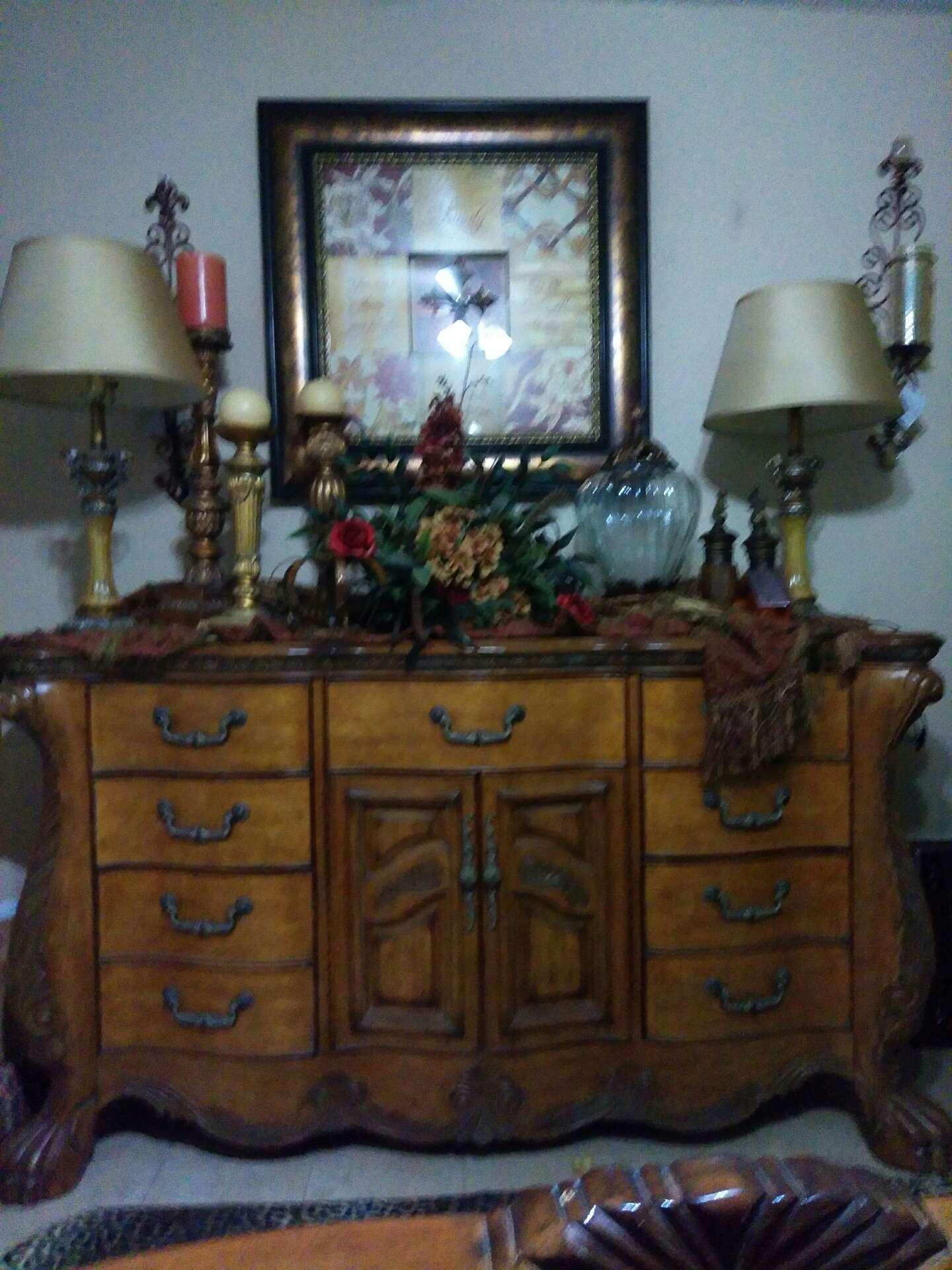 king size bedroom set .michael amini (aico) hemispheres furniture