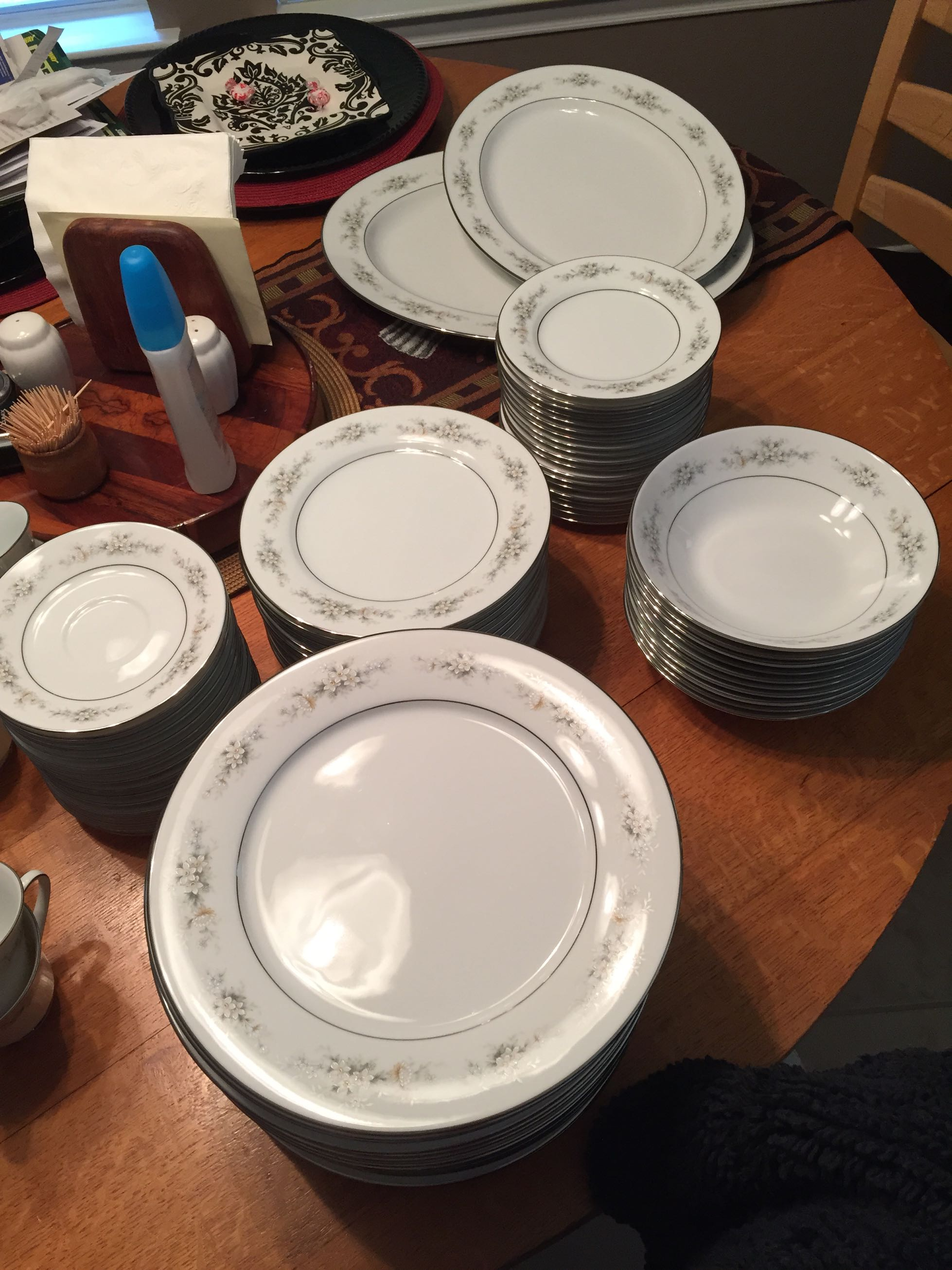I Have A Set Of Noritake Melissa 3080 Fine China That I Don't Ever