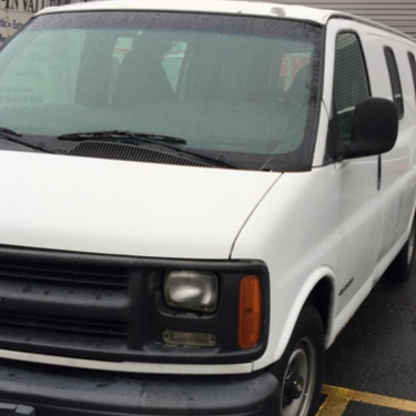 2002 chevy express 2500 v8 cargo van for sale in cliffside park nj   5miles buy and sell