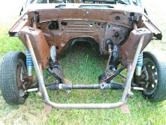 90 Mustang Coupe Fox Body 2 100 Obo Tubular Front End