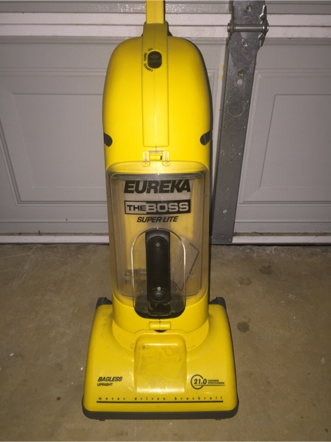 Eureka Quot The Boss Superlite Quot Bagless Upright Vacuum For
