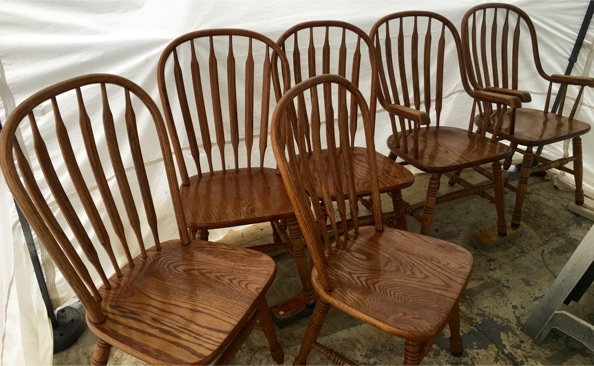 shin~ lee dining set with 6 chairs for sale in austin, tx - 5miles