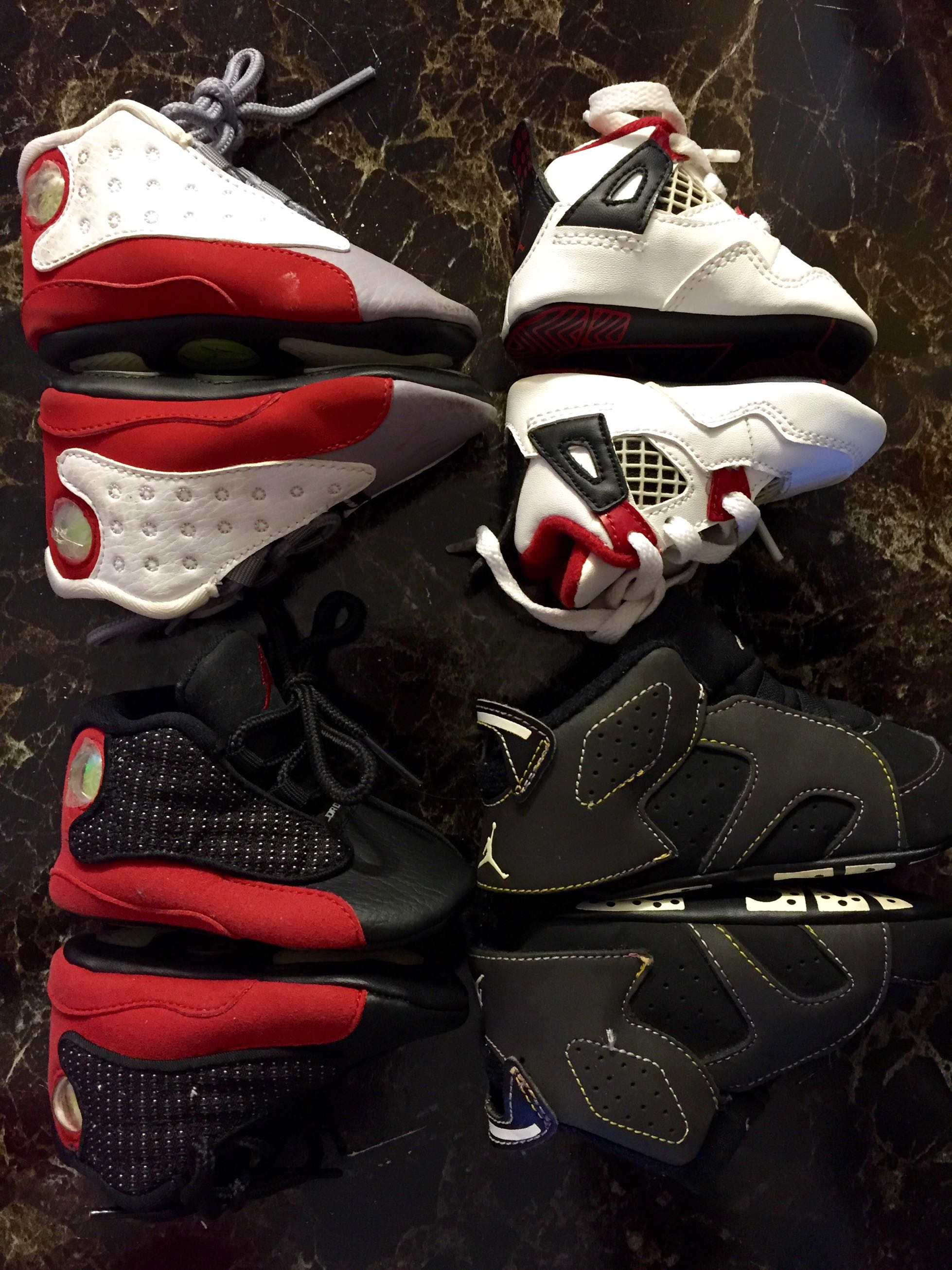 Crib jordans for sale - Like New Infant Air Jordan Retro They Come With Beanies Just No Boxes All 100