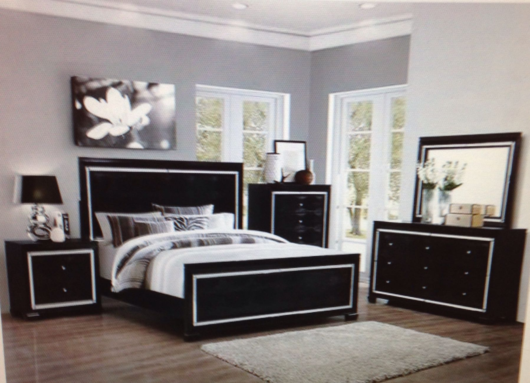 aria bedroom set . sale, sale, sale. king size set for $1400.00