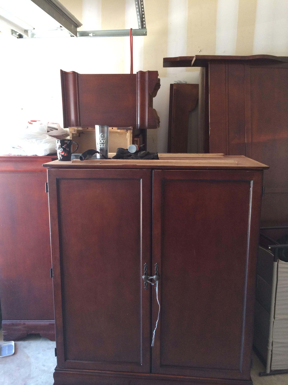 Bedroom Door At Night - 6 pc bedroom set sleigh bed double door with drawers tv stand 2
