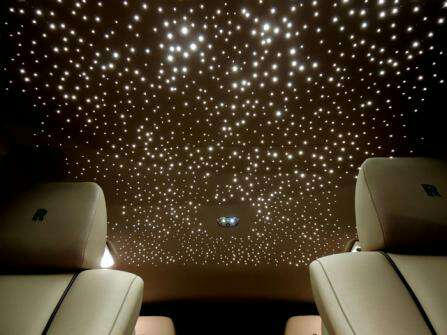 Rolls Royce Style Starlight Headliner Star Roof Kit 800