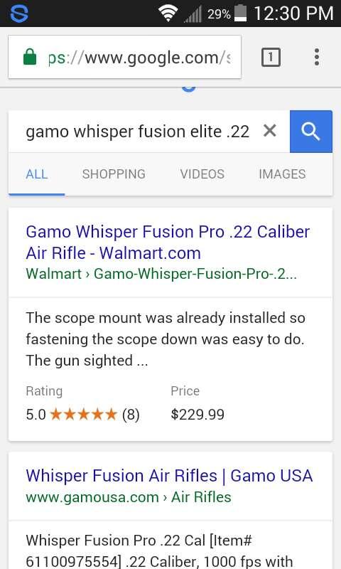 Gamo Whisper Walmart